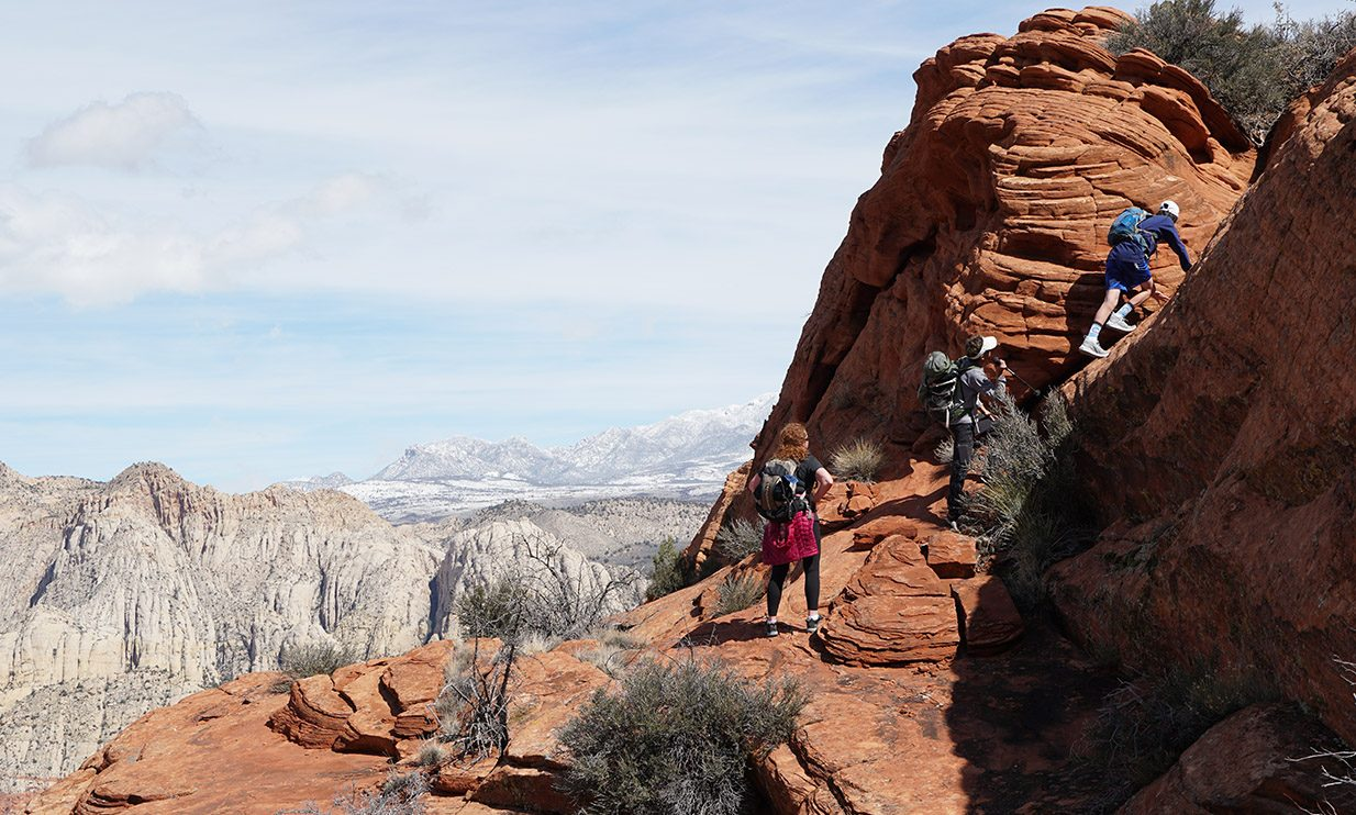 zion hiking