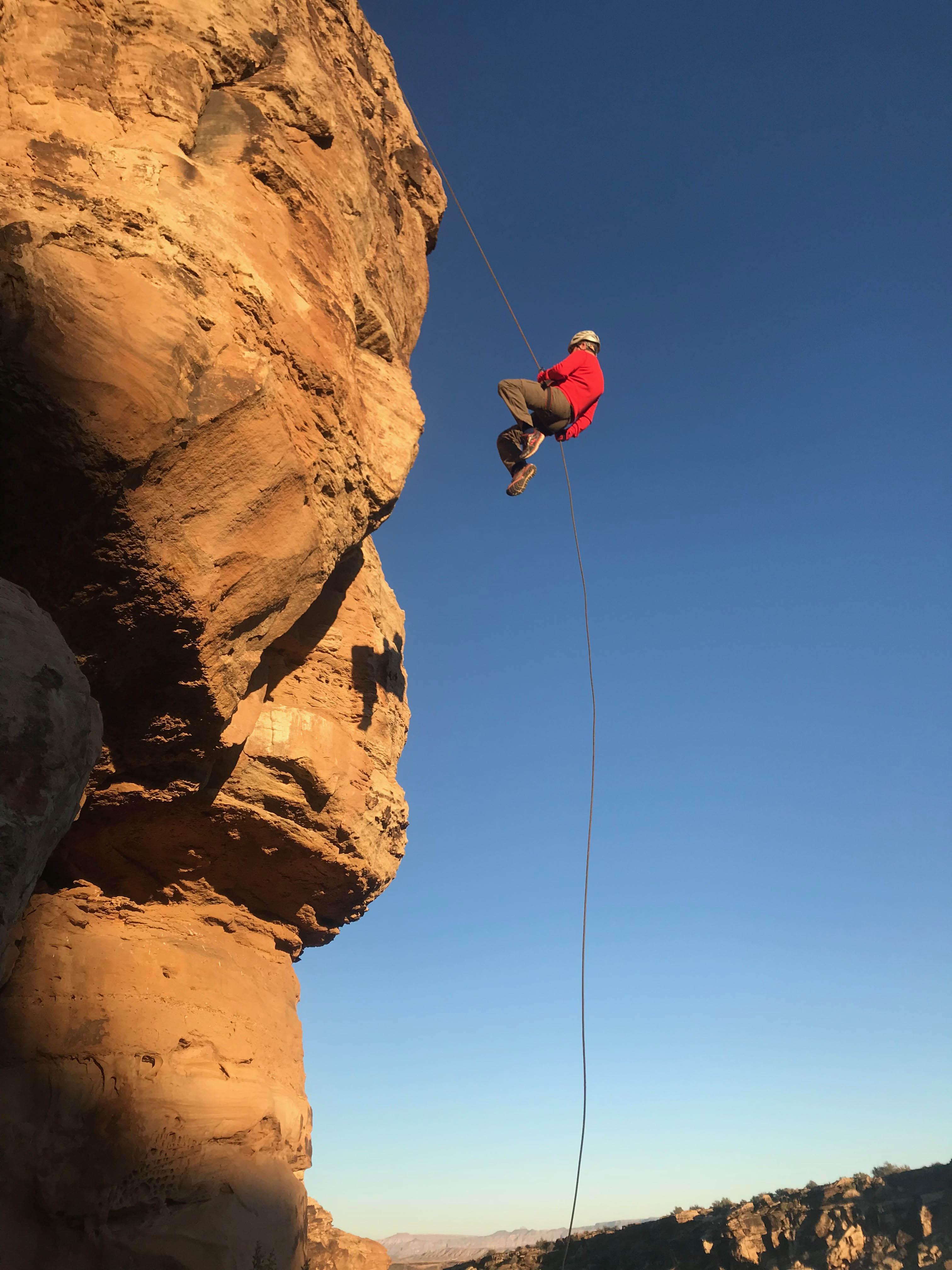 Zion Rock Climbing