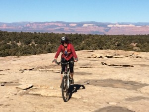 mt biking near zion