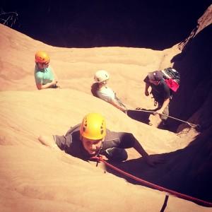 climbing near zion